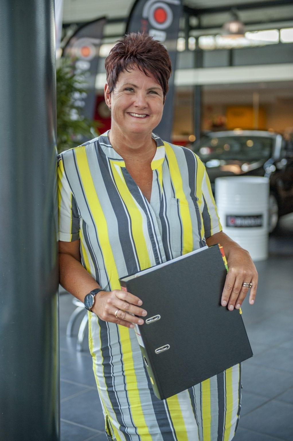 Autobedrijf Blekkink Aalten Karin controller
